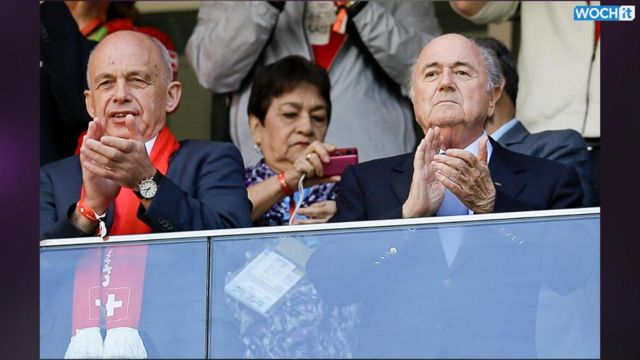 News video: Boo! Blatter Gets A Hostile Reception